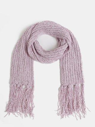 Světe fialová dámská šála Haily´s Karlotta