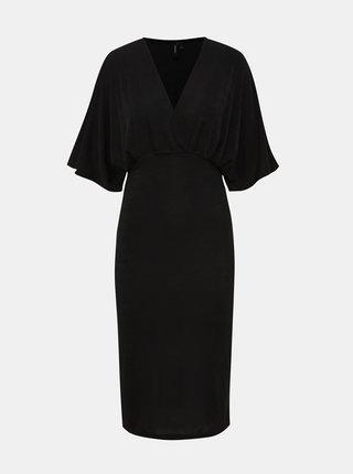 Černé šaty VERO MODA Doreen