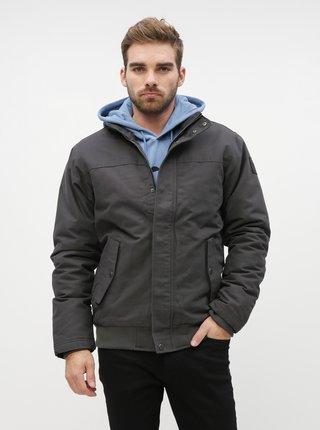 Tmavě šedá zimní nepromokavá bunda Quiksilver