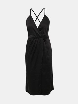 Černé šaty VILA Setia