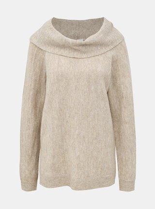 Béžový svetr VILA Calo