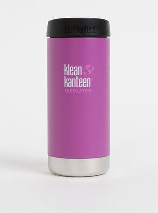 Tmavoružový nerezový termohrnček Klean Kanteen 355 ml