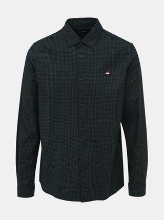 Tmavě zelená kostkovaná košile Jack & Jones Rivan