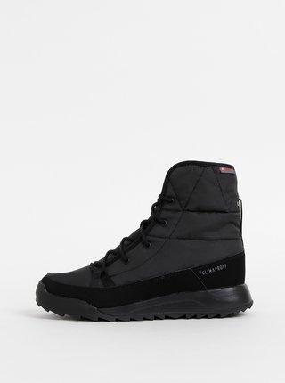 Černé dámské zimní voděodolné boty adidas Performance Terrex