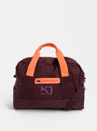 Fialová športová taška Kari Traa Lin Bag 27 l