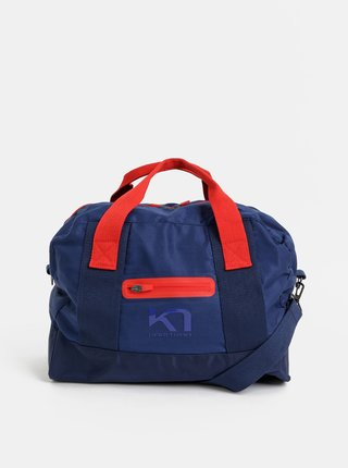Tmavomodrá športová taška Kari Traa Lin Bag 27 l