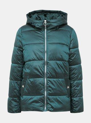 Zelená zimní prošívaná bunda ONLY Naiomi