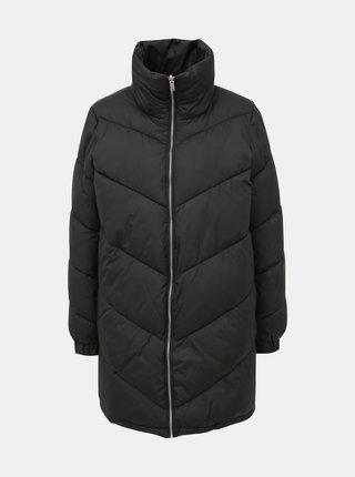 Čierny obojstranný kabát ONLY Seanne