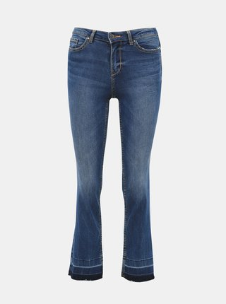 Modré zkrácené regular fit džíny Jacqueline de Yong Magic