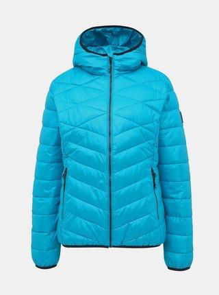 Modrá dámská prošívaná bunda SAM 73