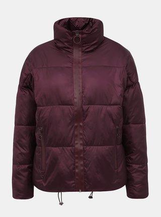 Vínová dámska prešívaná zimná bunda Haily´s Ina