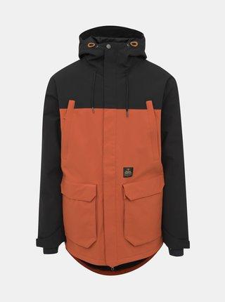 Oranžová pánská funkční zimní bunda Horsefeathers Cordon