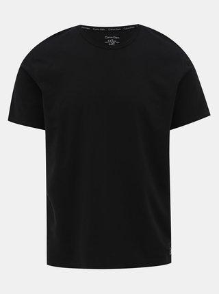 Čierne pánske pyžamové tričko Calvin Klein Underwear