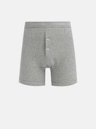 Šedé boxerky Calvin Klein Underwear