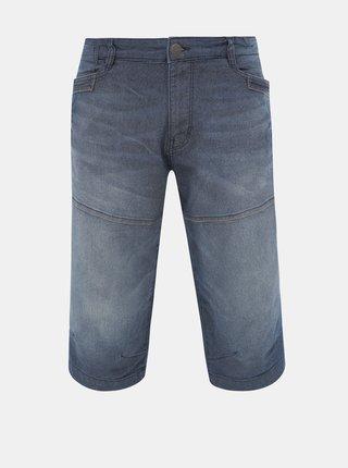 Modré pánské džínové kraťasy Tom Tailor