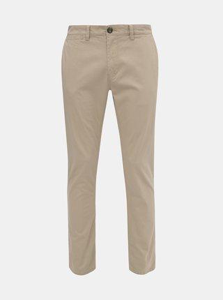 Béžové pánske chino nohavice Tom Tailor