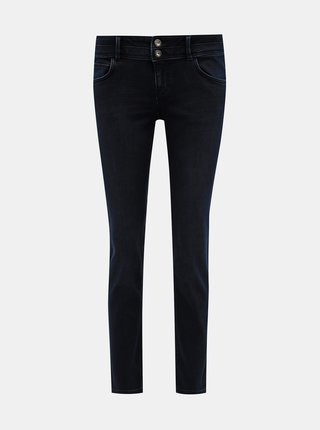 Tmavě modré dámské slim fit džíny Tom Tailor Carrie