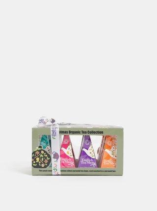 Sada dvanástich organických čajov English Tea Shop Christmas