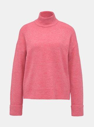 Rúžový sveter VERO MODA Rana