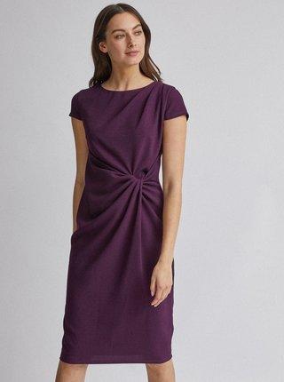 Fialové púzdrové šaty Dorothy Perkins