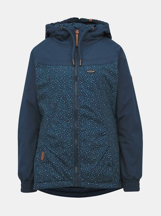 Modrá dámska vzorovaná zimná bunda Alife and Kickin Black Mamba B