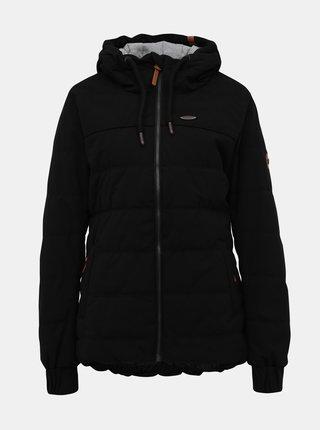 Čierna dámska prešívaná zimná bunda Alife and Kickin Janis A