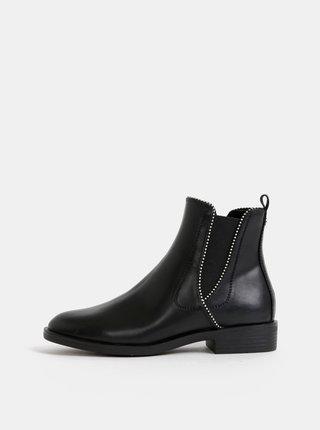 Černé dámské chelsea boty s.Oliver