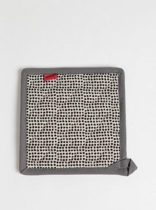 Béžovo-šedá vzorovaná podložka pod hrnec Tranquillo Paula