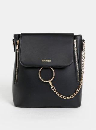 Černý dámský batoh/kabelka Spiral Envi