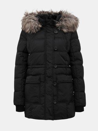 Čierna prešívaná zimná bunda ONLY New Ottowa