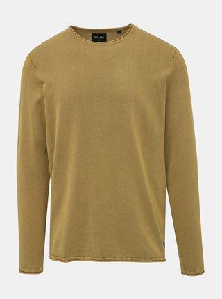 Hnědý basic svetr ONLY & SONS Garson