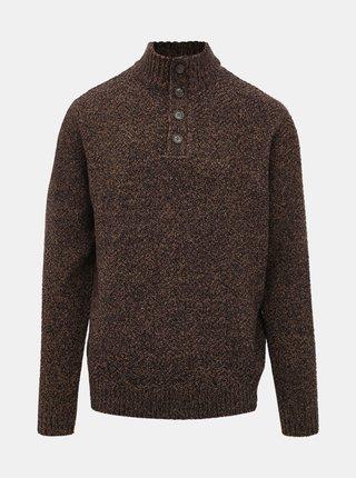 Hnedý sveter Burton Menswear London