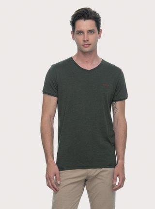 Tmavě zelené pánské tričko Ragwear Venie