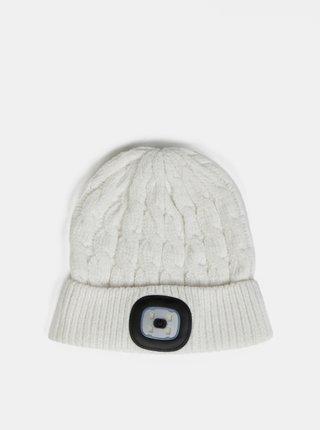 Biela dámska čiapka so svetlom Something Special