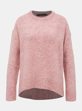 Staroružový basic sveter VERO MODA Kizzi
