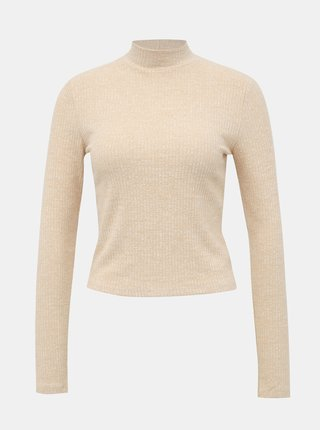 Béžový lehký svetr Miss Selfridge
