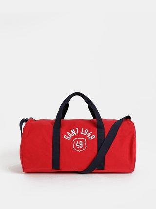 Červená športová taška GANT