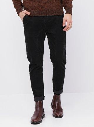 Černé pánské manšestrové kalhoty Maloja Timoteus