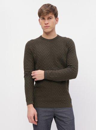 Khaki pánský svetr Tom Tailor Denim