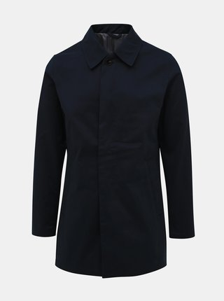 Tmavě modrý kabát Jack & Jones Leister