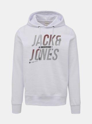 Biela mikina Jack & Jones Booster