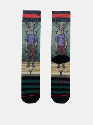 Zelené pánské ponožky XPOOOS