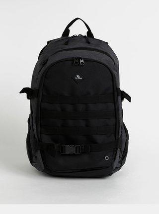 Tmavě šedý vzorovaný batoh Rip Curl Posse 29 l