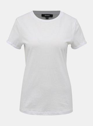 Bílé dámské basic tričko ZOOT Camu