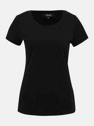 Černé dámské basic tričko ZOOT Dana