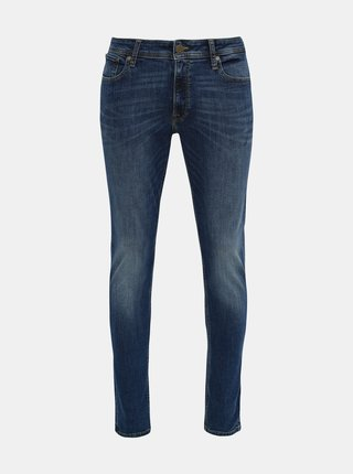 Modré skinny fit rifle Jack & Jones Liam
