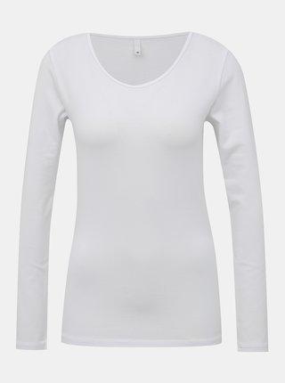 Tricouri basic pentru femei ONLY - alb
