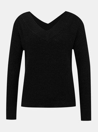 Černý basic svetr ONLY Melton