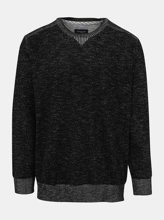 Tmavě šedý pánský svetr Tom Tailor