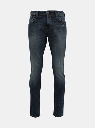 Modré pánske straight fit rifle Tom Tailor Denim